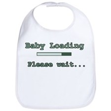 Green Baby Loading Bib
