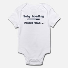 Blue Baby Loading Infant Bodysuit
