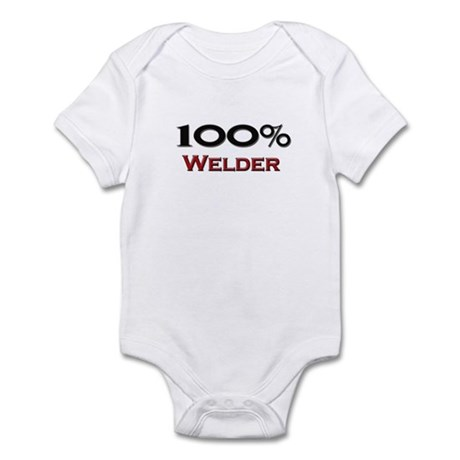 100 Percent Welder Infant Bodysuit