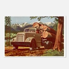 1953 GMC Log Truck Postcards (Package of 8)