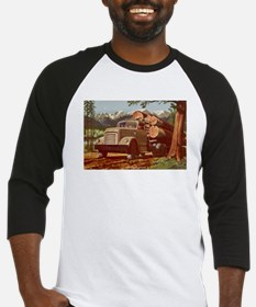 1953 GMC Log Truck Baseball Jersey