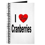 I Love Cranberries Journal
