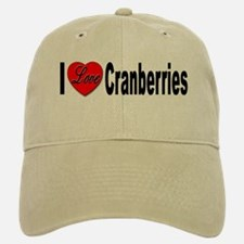 I Love Cranberries Baseball Baseball Cap