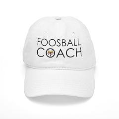 Foosball Coach Baseball Cap