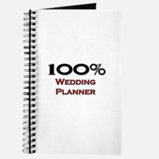 100 Percent Wedding Planner Journal