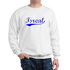 Vintage Isreal (Blue) Sweatshirt