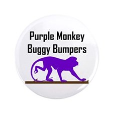 "Purple Monkey Buggy Bumpers 3.5"" Button (100 pack)"