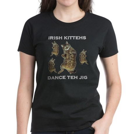 Irish Kitteh Women's Dark T-Shirt