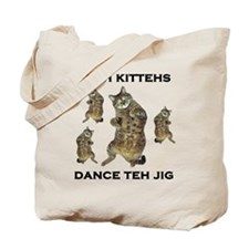 Irish Kitteh Tote Bag