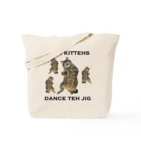 Irish Kitteh Tote Bag