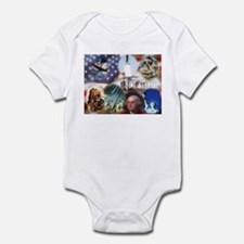 Americana Infant Bodysuit