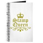 Gold Stamp Queen Journal