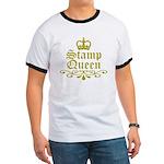 Gold Stamp Queen Ringer T