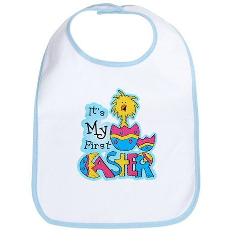 1st Easter Chickie Bib