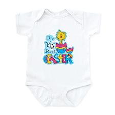 1st Easter Chickie Infant Bodysuit
