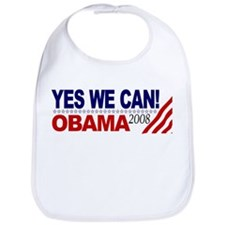 YES WE CAN OBAMA 2008 Bib