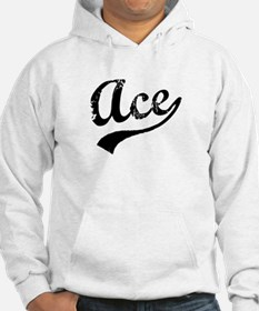 Vintage Ace (Black) Jumper Hoody
