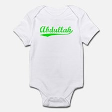 Vintage Abdullah (Green) Infant Bodysuit