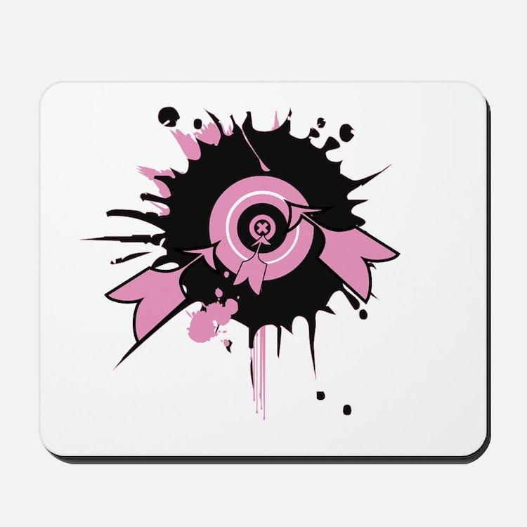 Pink Darts Mousepad