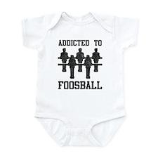 Addicted To Foosball Infant Bodysuit