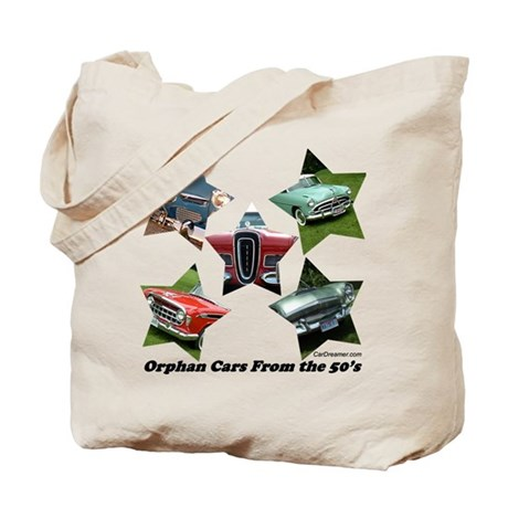"""""""Orphan Cars of the 50's"""" Tote Bag"""