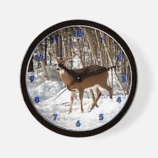 10 Point Buck Wall Clock