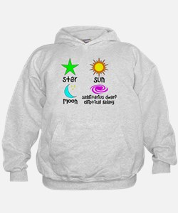 Astronomy for Smart Babies Hoody