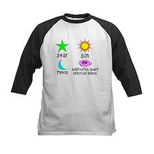 Astronomy for Smart Babies Kids Baseball Jersey