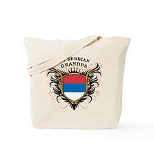 Number One Serbian Grandpa Tote Bag