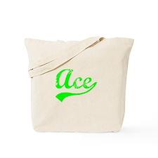 Vintage Ace (Green) Tote Bag