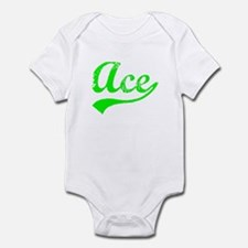 Vintage Ace (Green) Infant Bodysuit