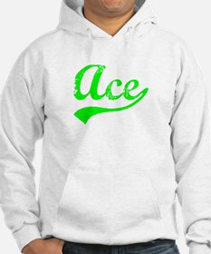 Vintage Ace (Green) Jumper Hoody