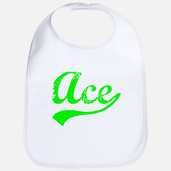 Vintage Ace (Green) Bib