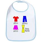 Fashion for Smart Babies Bib