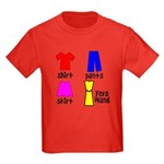 Fashion for Smart Babies Kids Dark T-Shirt