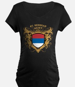 Number One Serbian Aunt T-Shirt