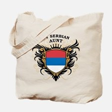 Number One Serbian Aunt Tote Bag