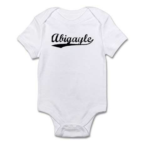 Vintage Abigayle (Black) Infant Bodysuit