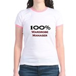 100 Percent Wardrobe Manager Jr. Ringer T-Shirt