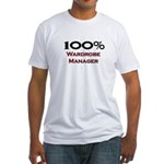 100 Percent Wardrobe Manager Fitted T-Shirt