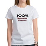 100 Percent Wardrobe Manager Women's T-Shirt
