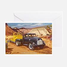 1952 GMC Truck Greeting Card