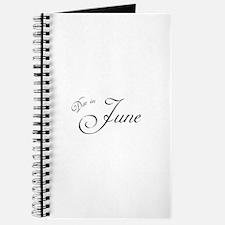 Due In June Formal Script Journal