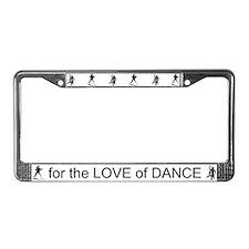 Ballroom Dance License Plate Frame