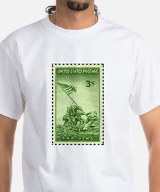 Stamp-Collecting-marines-10x10-01 T-Shirt