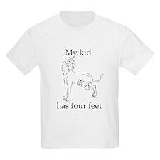 N mykidfeet Great Dane Kids T-Shirt