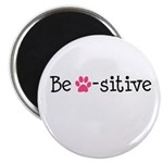 Be Pawsitive - Pink Magnet