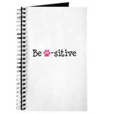 Be Pawsitive - Pink Journal