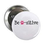 Be Pawsitive - Pink 2.25