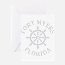Summer fort myers- florida Greeting Cards